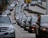 Забастовки водителей такси в Париже