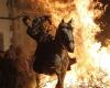 Огненный фестиваль в Испании