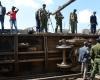 В Найроби крупнейший грузовой поезд сошел с рельсов