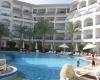 В Египте в бухте Наама Бей отели расположены в две линии вдоль залива