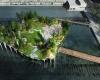 Плавающий парк на реке Гудзон за  $ 130 млн.