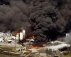 Взрыв на лакокрасочном комбинате в Аргентине
