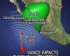 Ураган Вэнс набирает силу, угрожая Мексике