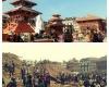 Землетрясение в Непале полностью разрушило исторический центр Катманду