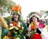 В крупнейшем ботаническом саду Австралии проводится фестиваль еды и вина