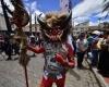 Фестиваль пороков в Эквадоре