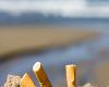 Штраф в € 600 за выброшенный окурок на пляже