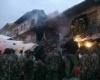 Самолет врезался в двухэтажное здание в Найроби