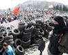 Жители новой Донецкой народной республики требуют присоединения к России