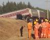 Крушение поезда в Китае: 15 человек пострадали