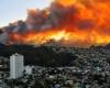 В Чили пожары уничтожили более 500 домов