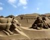 В Уэстон-Супер-Маре открылся фестиваль песчаной скульптуры