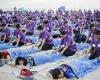 На Бали провели сеанс одновременного массажа для тысячи человек
