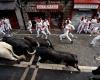 Сан-Фермин: три человека стали жертвами быков