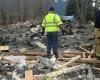 Оползень в Вашингтоне унес не менее трех жизней