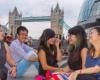 Огромный рост китайских студентов, обучающихся в Лондоне