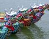 В Гонконге проходит грандиозный карнавал лодок-драконов
