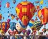 Международная фиеста воздушных шаров в Альбукерке