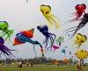 Международный фестиваль воздушных змеев в Таиланде