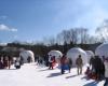 Грандиозный снежный фестиваль в Японии
