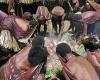 Каннибализм в Центрально-Африканской Республике – человек съел человеческую ногу в общественном месте