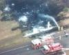 Пилот и пассажир сгорели заживо