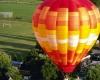 Воздушный шар взрорвался при посадке