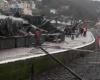 Ураганный ветер в Ирландии: есть жертвы