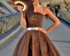 На выставке представлено платье из шоколада