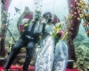 Свадьба на глубине 12 метров под водой