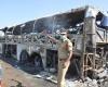 50 пассажиров сгорели заживо в автобусе