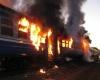 При пожаре в индийском поезде погибли 26 человек