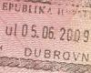 С 2013 года Хорватия вводит визы