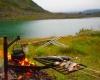 Рыбалка и кемпинг Малнес в северной Норвегии