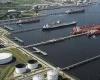 Какой основной порт в Китае?