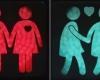 В Вене установлены светофоры с гей-изображениями