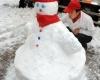 Сильные снегопады в Китае: парализовано движение транспорта