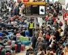 В Великобритании задержано тысячи авиарейсов