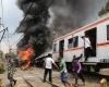 10 человек погибли в результате столкновения грузовика с поездом